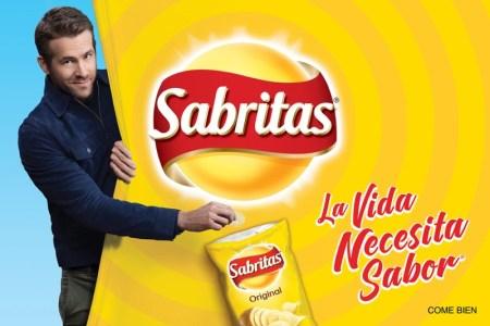 Campaña de Sabritas y Ryan Reynolds se transmitirá el 11 de marzo en televisión nacional