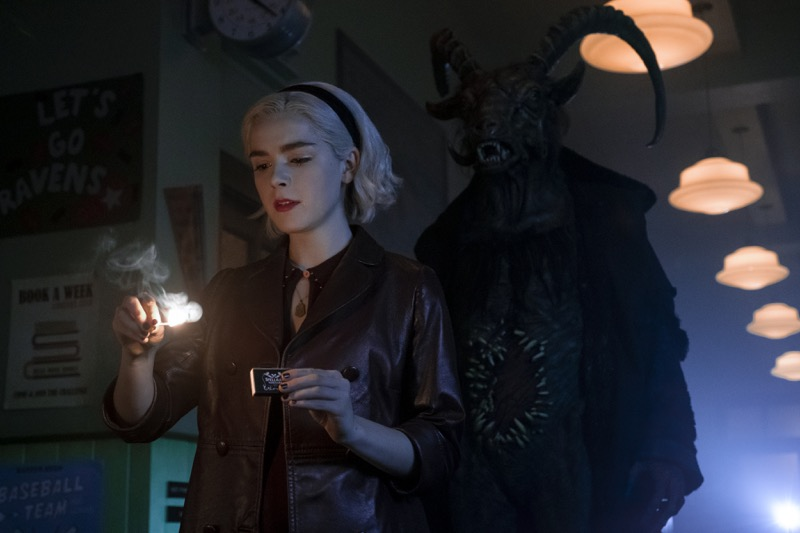 Netflix revela imágenes de la segunda temporada de El mundo oculto de Sabrina - segunda-temporada-de-el-mundo-oculto-de-sabrina-800x533