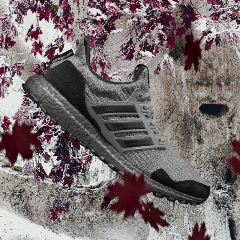 adidas Running presenta su colaboración con Game Of Thrones de edición limitada - stark_ultraboost-de-adidas-x-game-of-thrones