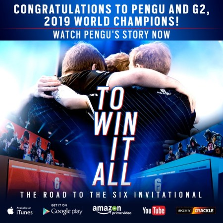 "Documental""To win it all: the road to the six invitational"" ¡Ya disponible en Youtube y Plataformas streaming!"