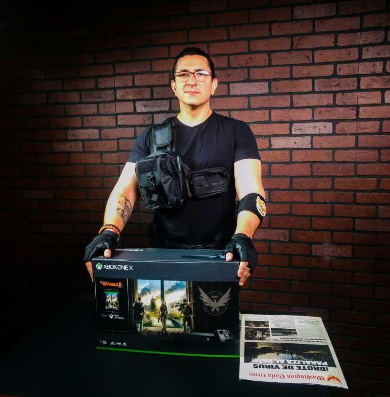 Ubisoft presentó los bundles de The Division 2 de Xbox One X y One S ¡Conoce los detalles para participar en el sorteo! - tom-clancys-the-division-2-xbox-one-x-unboxing