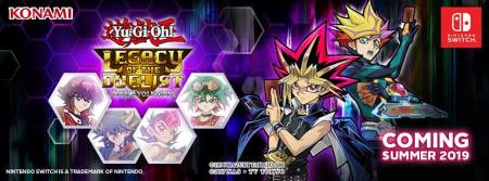 Yu-Gi-Oh! estará de vuelta de forma exclusiva para Nintendo Switch