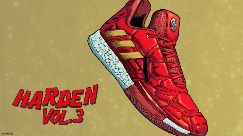 adidas y Marvel celebran a los héroes más poderosos del baloncesto - adidas_marvel_james_harden_twitter_ftw-4-hero