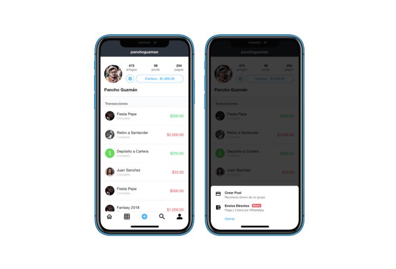 Ahora podrán enviar dinero a cualquier persona que tenga Whatsapp - app-moneypool