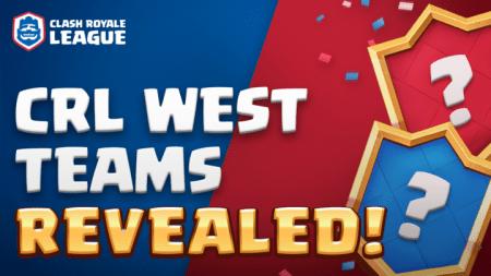 Clash Royale League West: Conoce a los equipos