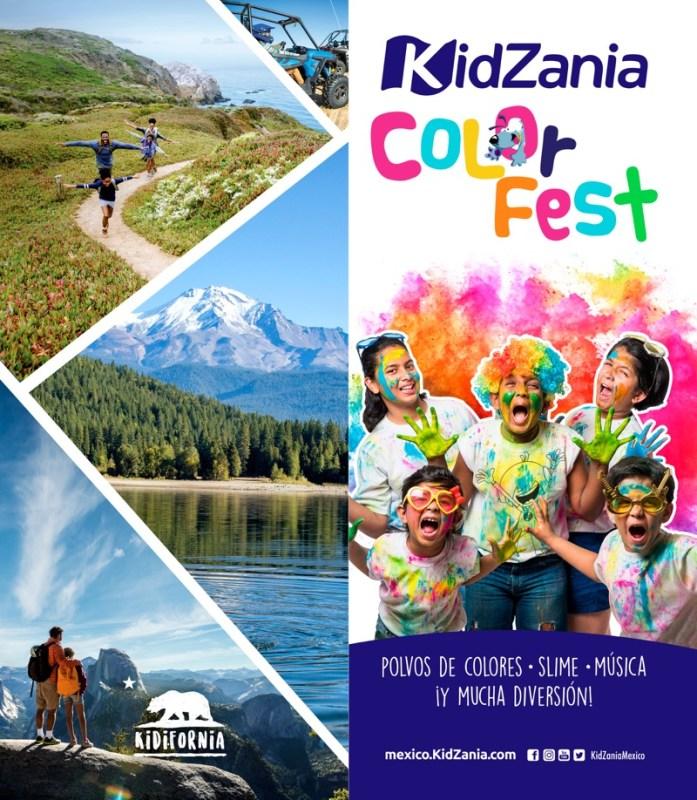 Color Fest KidZania 2019, fiesta llena de mucho color y diversión - color-fest-kidzania-2019