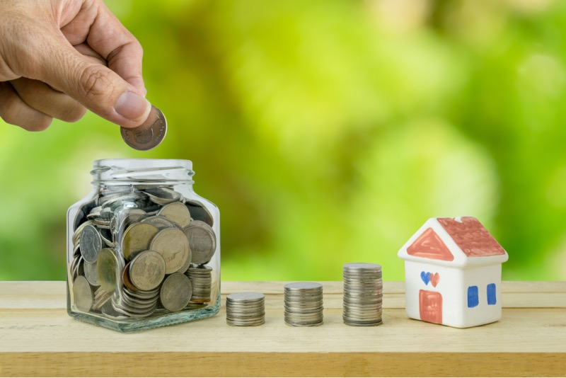 ¿Cómo ahorrar para el enganche de tu casa? - enganche-para-casa