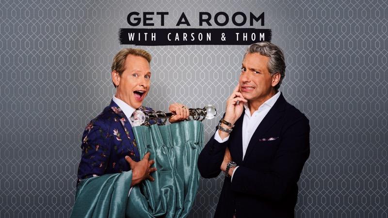Episodio de estreno Get a Room con Carson y Thom - get-a-room-carson-y-thom