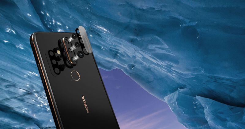 Con el Nokia X71, la firma finlandesa se une la tendencia de orificios en pantalla y cámara de 48 megapíxeles. - nx71-cam