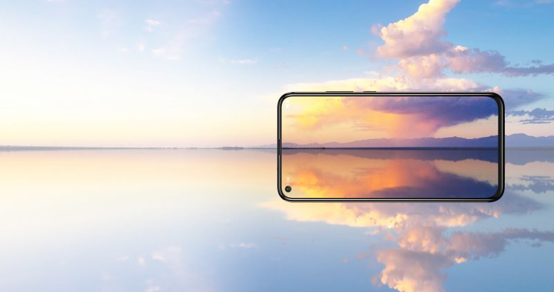Con el Nokia X71, la firma finlandesa se une la tendencia de orificios en pantalla y cámara de 48 megapíxeles. - nx71-wide-800x422
