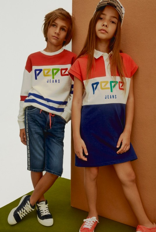 Colección Spring Summer 2019 de Pepe Jeans - pepe-jeans-lookbook-junior-ss-19_look-4-5