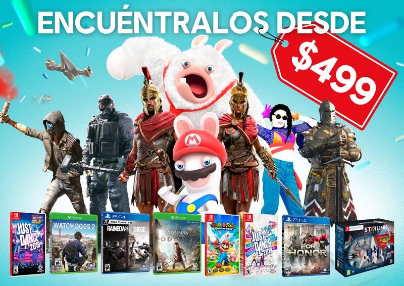Este Día del Niño celebra con las recomendaciones de Ubisoft ¡a precios increíbles! - ubisoft_dia-del-nincc83o