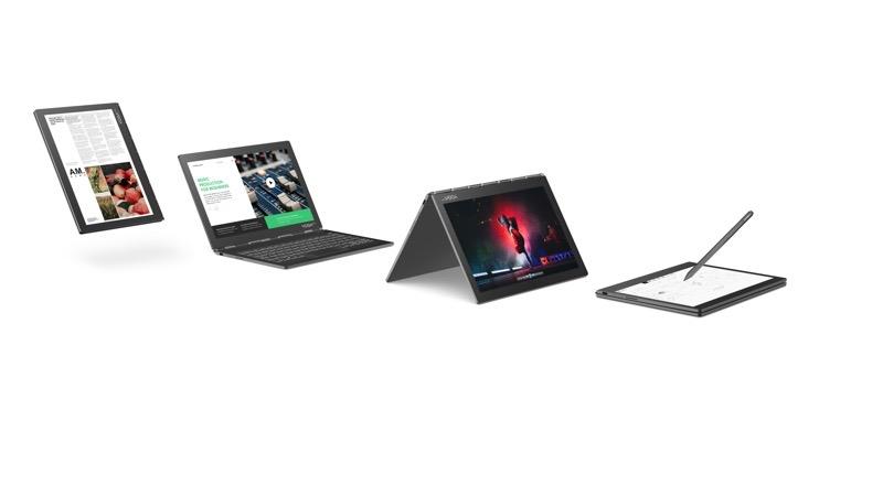 Lenovo presenta el Yoga Book C930 equipada con doble pantalla y Yoga S940 el primer portátil del mundo con vidrio 3D - 13_yb_c930_hero_all_modes