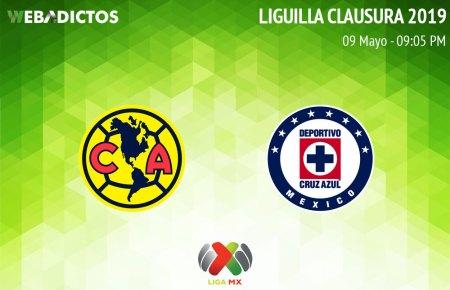 América vs Cruz Azul, Liguilla del Clausura 2019 ¡En vivo por internet!