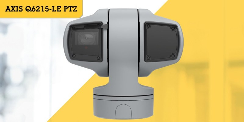 Soluciones de Axis más recientes en audio, video y control de acceso en Expo Seguridad 2019 - camara-de-red-axis-p3719-ple-1