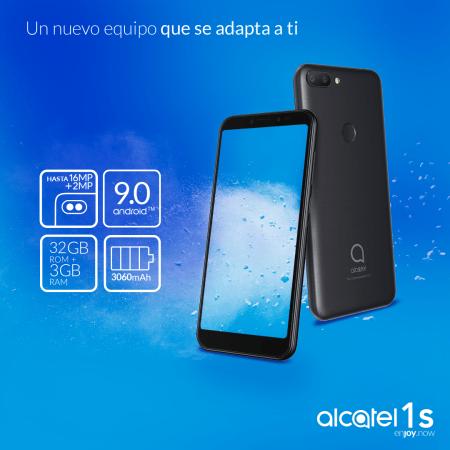 Alcatel 1S y 1C 2019 llegan a México ¡Conoce sus características y precios!