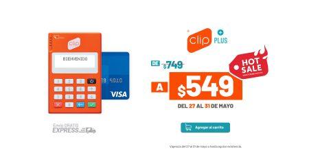 Hot Sale 2019: Clip se suma con descuentos del 25% para que más negocios puedan aceptar pagos con tarjeta