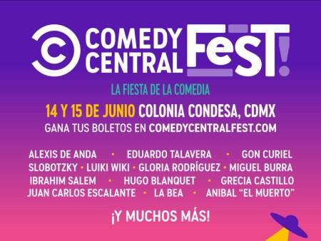 Llega la tercera edición de Comedy Central Fest del 14 y 15 de junio