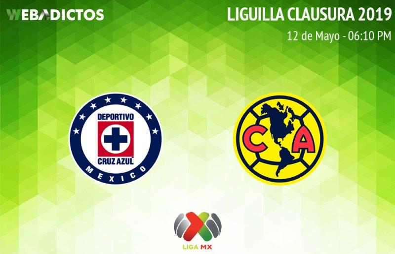 Cruz Azul vs América, vuelta de la Liguilla C2019 ¡En vivo por internet! - cruz-azul-vs-america-vuelta-liguilla-clausura-2019