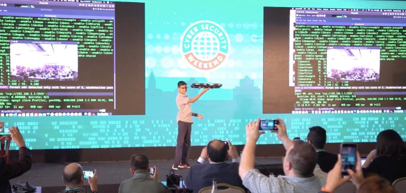 Adolescente hackea dron y expone la deficiencia de seguridad en los dispositivos IoT - cyber-ninja-800x380