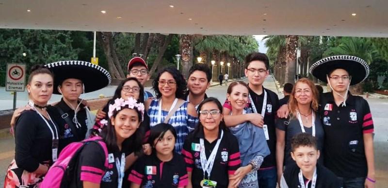 Niños mexicanos ganan premio en festival internacional FIRST LEGO League en Turquía - festival-internacional-first-lego-1