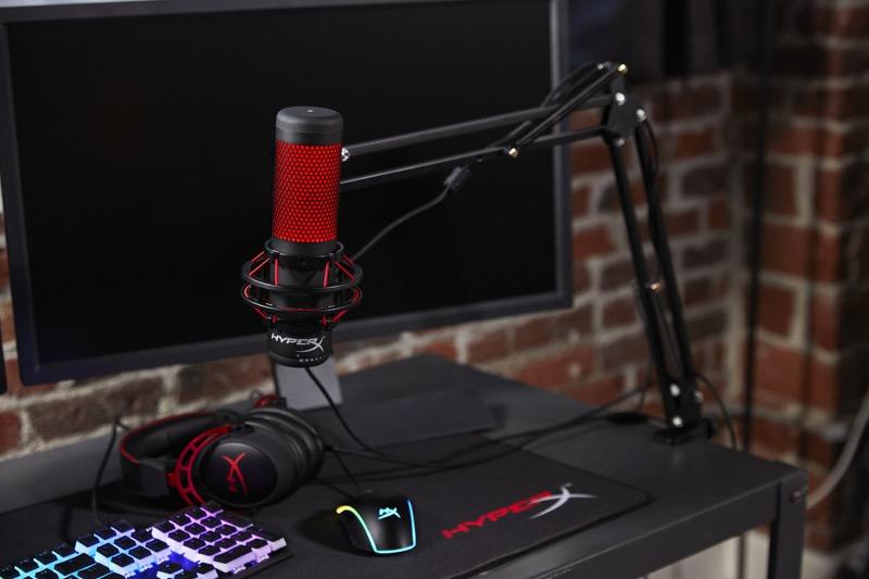HyperX anuncia el micrófono HyperX QuadCast para streamers y casters - hyperx-quadcast-800x533