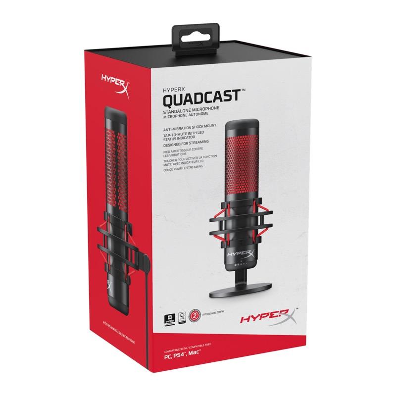 HyperX anuncia el micrófono HyperX QuadCast para streamers y casters - hyperx-quadcast_6