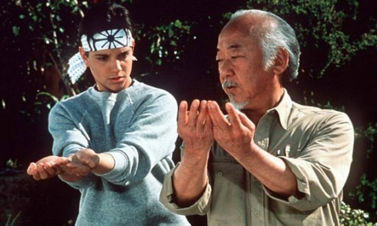 Especial Clásicos de la niñez, en Studio Universal - karate-kid
