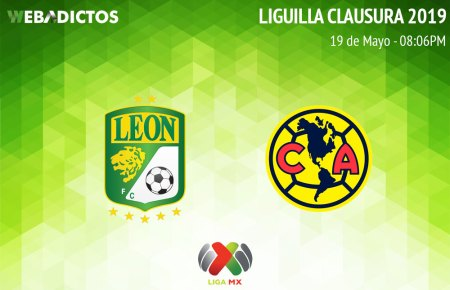 León vs América, vuelta de semifinal del C2019 ¡En vivo por internet!