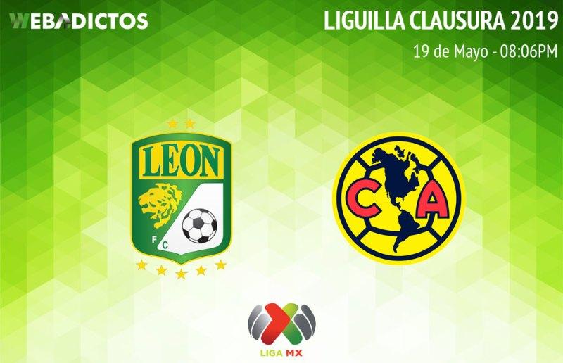 León vs América, vuelta de semifinal del C2019 ¡En vivo por internet! - leon-vs-america-semifinal-clausura-2019