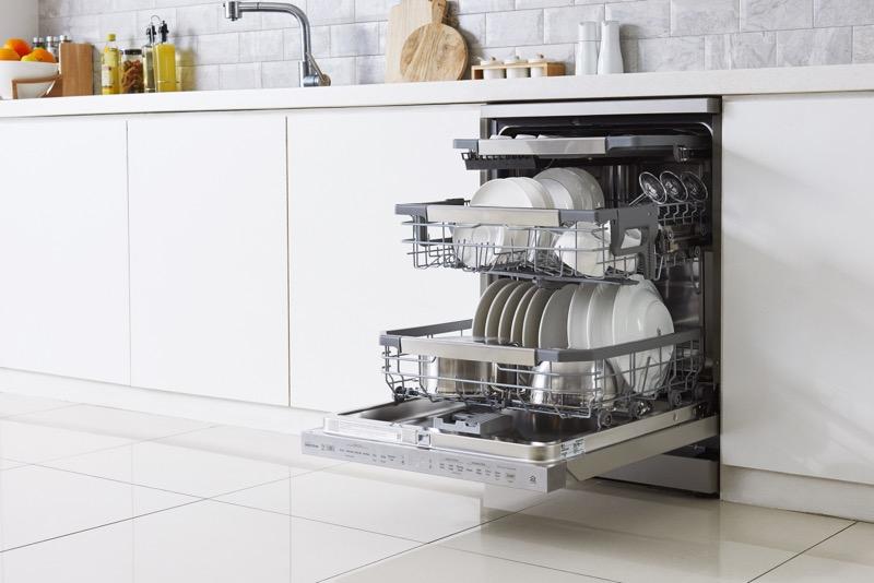 LG presenta en México su nueva línea de lavavajillas: LG QuadwashSteam - lg-dishwasher_09-800x534