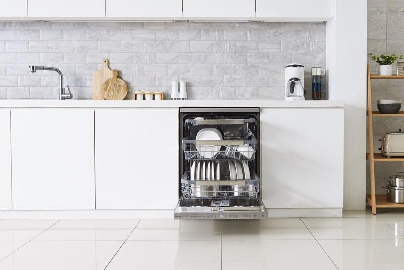 LG presenta en México su nueva línea de lavavajillas: LG QuadwashSteam - lg-dishwasher_10