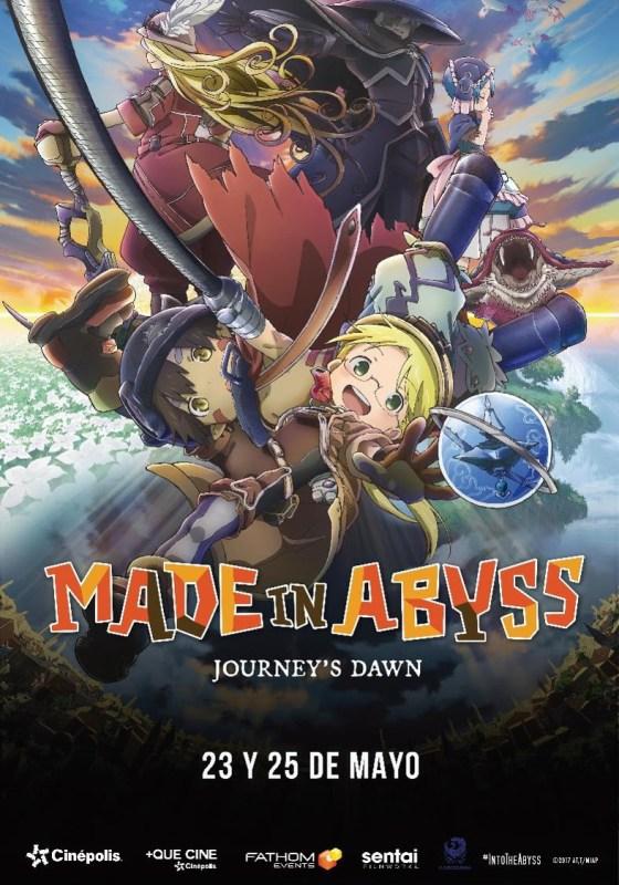 Animé en Cinépolis ¡Conoce los títulos en mayo! - made-in-abyss-560x800