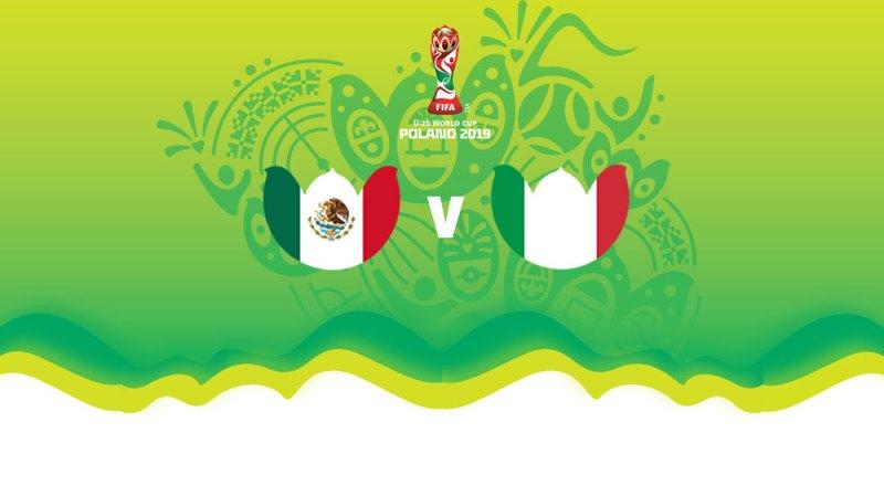 México vs Italia en el Mundial Sub 20 ¡En vivo por internet! - mexico-vs-italia-sub-20-mundial-2019