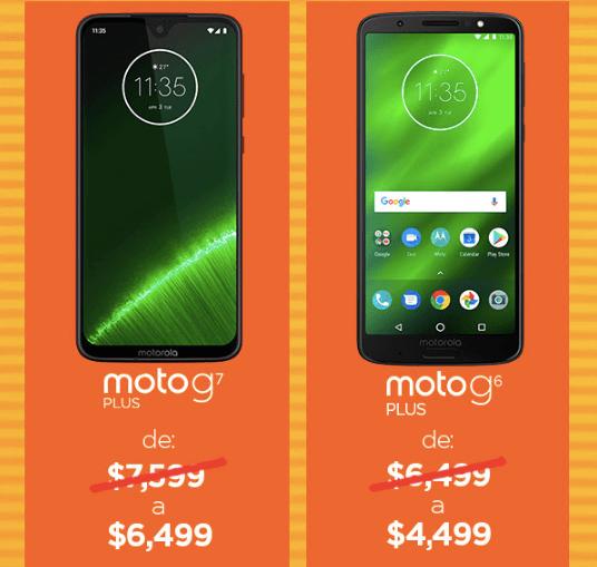 Los descuentos de Motorola durante el Hot Sale que no podrás creer - moto-g7-plus-moto-g6-plus