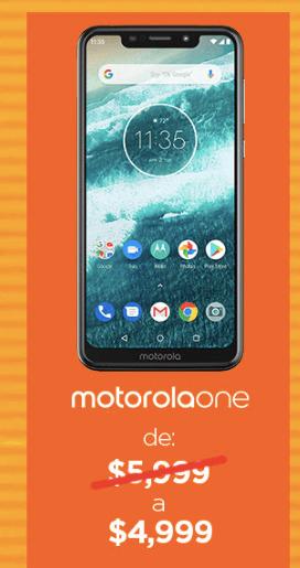Los descuentos de Motorola durante el Hot Sale que no podrás creer - motorola-one-1