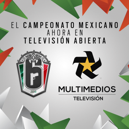 El Campeonato Mexicano de Rainbow Six se transmitirá en Televisión abierta