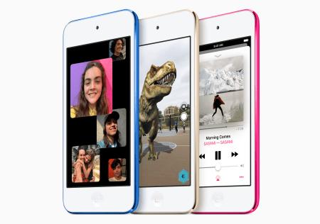 El nuevo iPod Touch adopta el chip Apple A10 Fusion para ofrecer más potencia