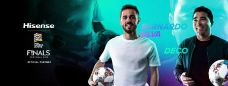 Hisense patrocinador oficial en las finales de la Liga de las Naciones de la UEFA