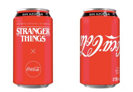 Coca-Cola lanza lata edición especial de Stranger Things