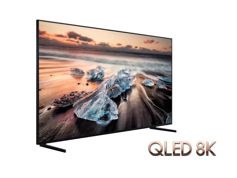 A qué distancia debe estar una pantalla de TV de gran tamaño - qled-8k