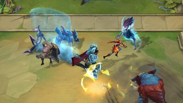Claves de Teamfight Tactics, el nuevo modo de League of Legends - time-fights