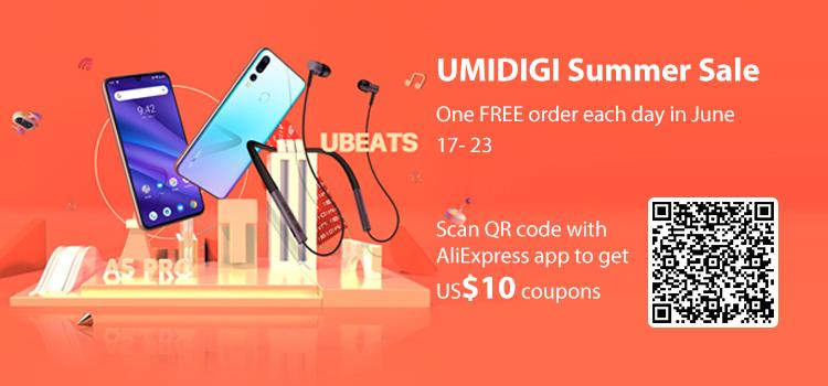 Por tiempo limitado a precio especial los auriculares con Bluetooth 5.0 UMIDIGI Ubeats - umidigi-ubeats-app-coupons