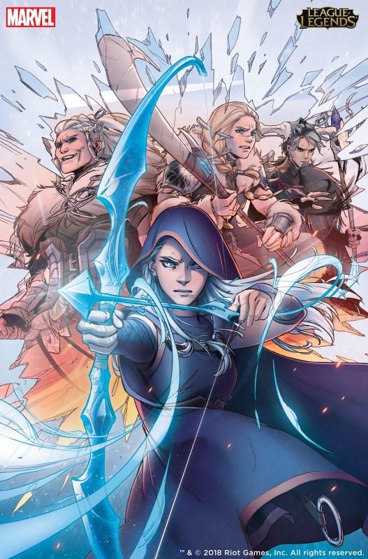 El primer cómic de Marvel y Riot Games llega a México - ashe