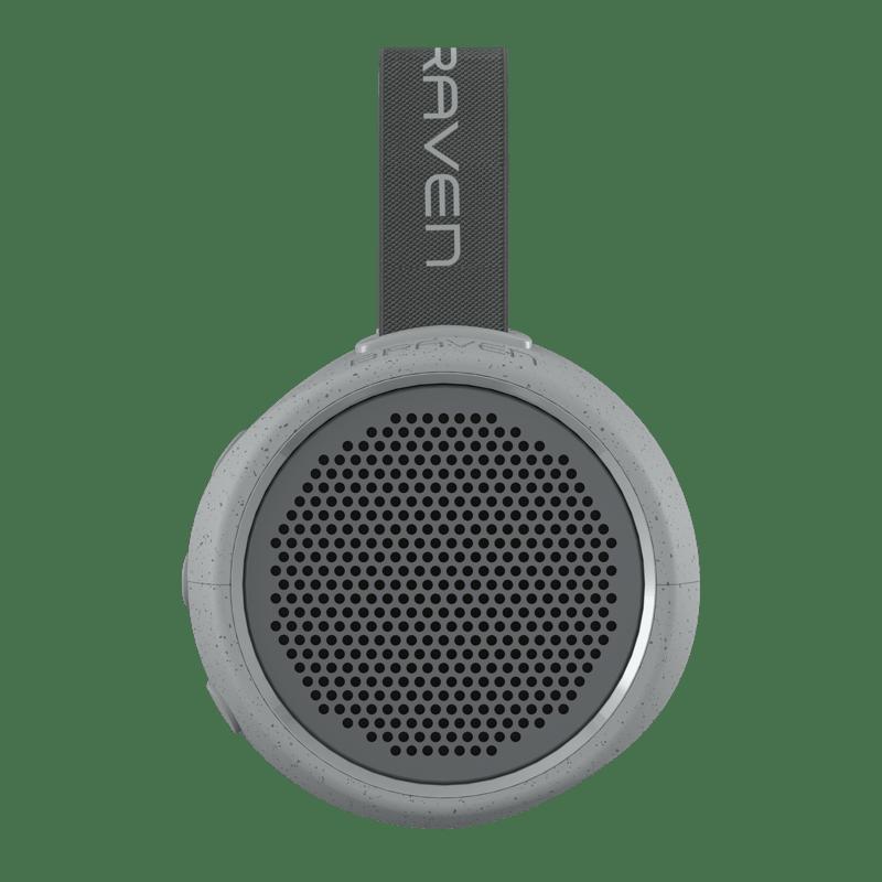 Nueva bocina BRAVEN 105 portátil de alta resistencia para exteriores - braven_gray_frontview