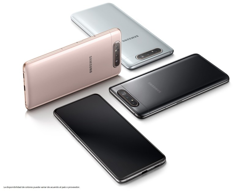 Samsung Galaxy A80, con cámara giratoria ¡ya disponible la preventa en México! - galaxy-a80-800x624