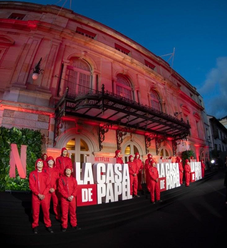 Netflix celebró la Premiere de la serie La casa de papel parte 3 en Colombia - la-casa-de-papel-parte-3