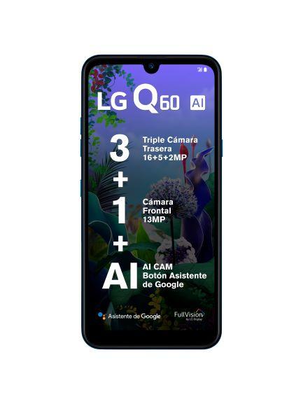 LG Q60 con triple cámara  con Inteligencia Artificial ¡conoce sus características y precio! - lg-q60_2