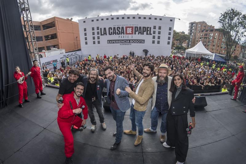 Netflix celebró la Premiere de la serie La casa de papel parte 3 en Colombia - serie-la-casa-de-papel-parte-3-800x533