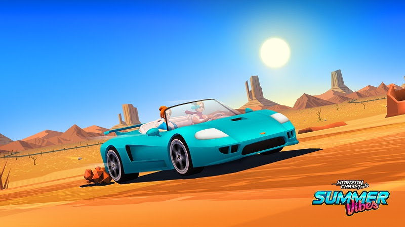 Llega Summer Vibes, el primer DLC de Horizon Chase Turbo - summer-vibes-amigas